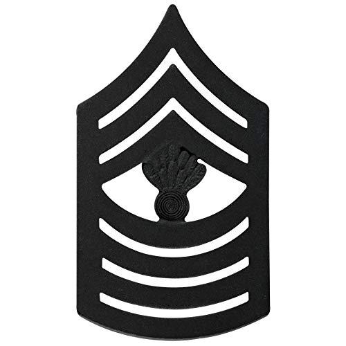 Medals of America USMC Master Gunnery Sergeant Rank Black - Sergeant Gunnery Usmc Master