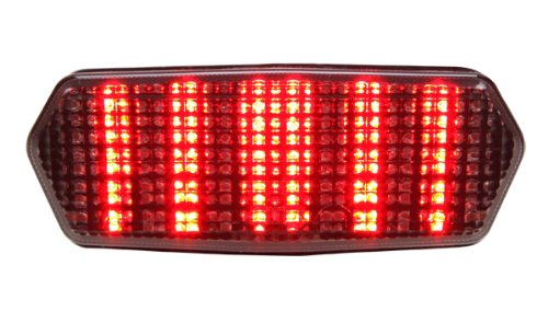 Integrated Sequential LED Tail Lights Smoke Lens for 2014-2019 Honda Grom MSX 125 by Motodynamic