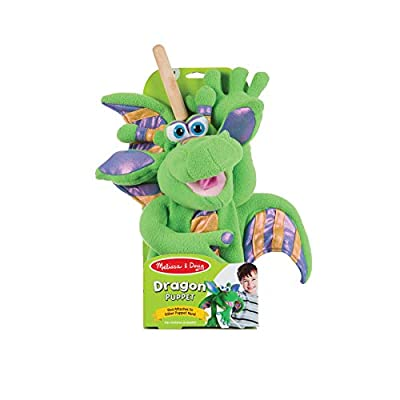 Melissa & Doug Smoulder the Dragon Puppet: Melissa & Doug: Toys & Games
