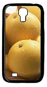 Beautiful Pear In the Basket DIY Hard Shell Black Samsung Galaxy S4 I9500 Case Perfect By Custom Service hjbrhga1544