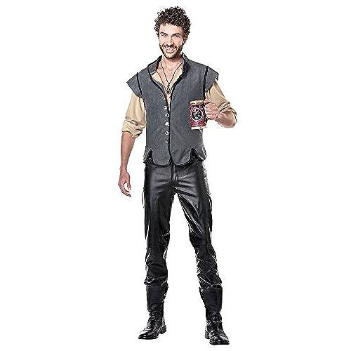 California Costumes Men\u0027s Renaissance Man Captain John Smith Historical  Character Costume, Gray, Small