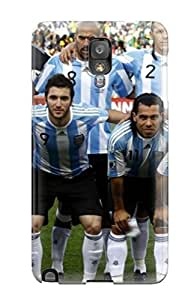 Fashion Protective World Cup Argentina Case Cover For Galaxy Note 3