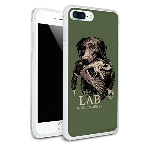 (The Lab Results are in Labrador Duck Hunting Protective Slim Fit Hybrid Rubber Bumper Case for Apple iPhone 7 Plus)