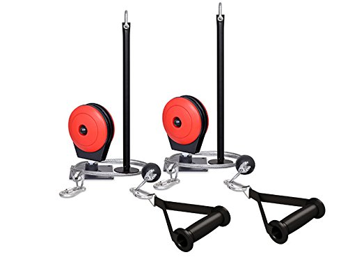 Marbo Sport Pair of Ceiling-mounted Lat Pull-downs by Marbo