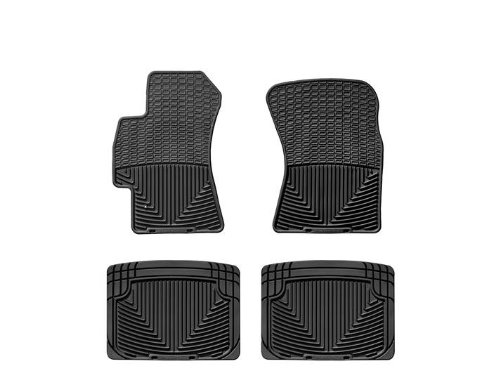 WeatherTech - W52-W20 - 2006-2011 Subaru Tribeca Black All Weather Floor Mats Rows 1 2 (Mats Tribeca Custom B9 Subaru)