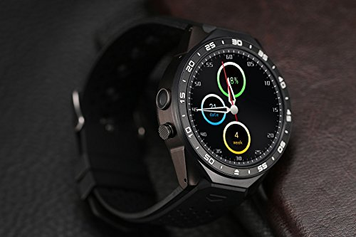 LENCISE Latest Android 5.1 Smart Watch Phone MTK6580 CPU 1.39 Inch ...