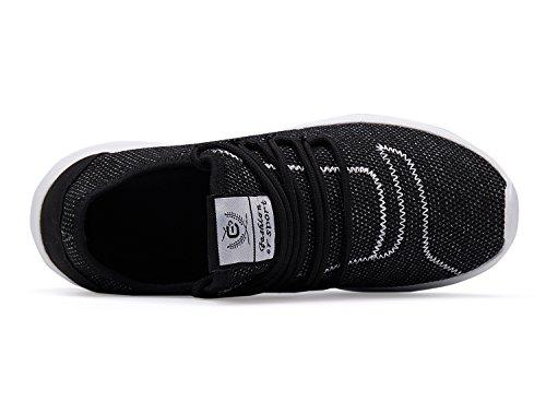 Black Athletic Shoes Mesh Shoes XUNMU Men's Fashion Shoes Lightweight Running Casual Sneakers Walking Breathable 6XqnnOUxYa