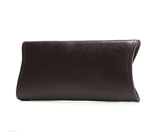 WITTCHEN Borsa classica, Marrone Scuro - Dimensione: 13x29cm - Materiale: Pelle di grano -Accomoda A4: No - 35-4-579-3