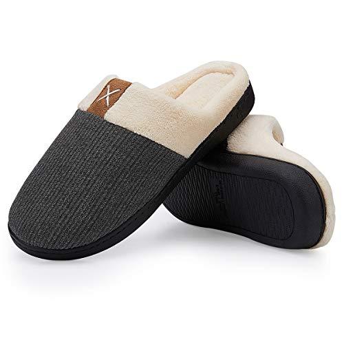 Uomo Uomo Vifuur Pantofole Vifuur Grau Grau Pantofole wqwXPr