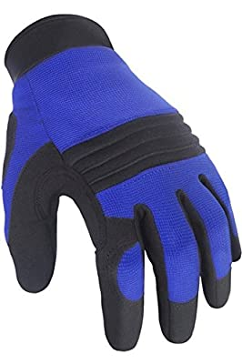 Duty Gloves: Firm Grip Tool Gloves, Safety Gear, Wear To Work, Tactical Accessories, All Purpose Utility Gloves for Men and Women