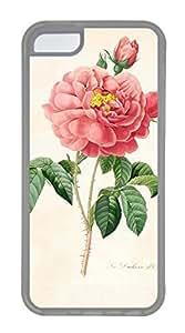 iPhone 5C Case, iPhone 5C Cases - nature flower colorful 14 Custom Design iPhone 5C Case Cover - Polycarbonate¨C Transparent