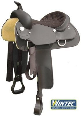 Wintec Western Saddle With Full Quarter Horse Bar - Brown, 16 (Wintec Full Quarter Horse)