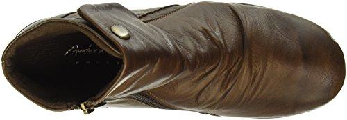 Andrea Conti 0342751, Zapatillas De Estar por Casa para Mujer Marrón - Braun (Braun/Cognac 351)