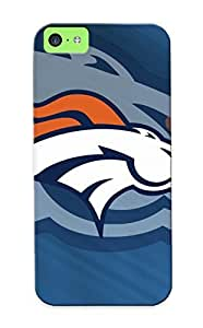 Iphone 5c Case - Tpu Case Protective For Iphone 5c- Denver Broncos Nfl Football Case For Thanksgiving's Gift