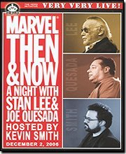 Price comparison product image Live - Marvel: Then & Now - A Night With Stan Lee,  Joe Quesada,  Hosted by Kevin Smith
