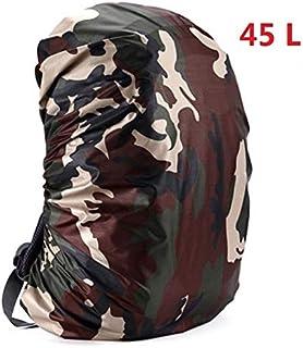 HATCHMATIC Mounchain 35 / 45L réglable imperméable Rain Cover antipoussière Sac à Dos Ultra-léger Portable épaule Protection Outils randonnée en Plein air: 45 litres E