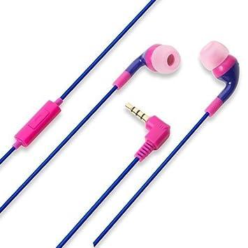 iJacket PGA Stereo Cascos para smartphone / iphone Colores Purpura ...