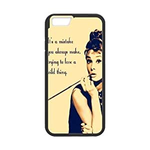 Audrey Hepburn Quotes New Fashion DIY Phone Case for iphone 5c,customized cover case ygtg-781781