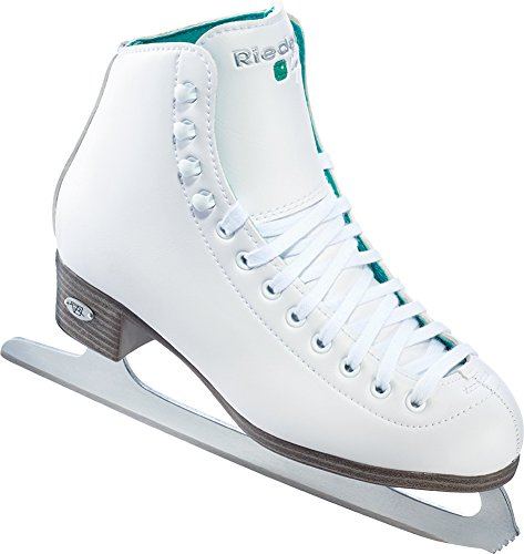 Riedell 2015 Figure Skates Model Child 10 Opal (White, 3)