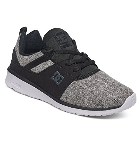 Basses Baskets Heathrow Shoes Se Charcoal Femme Noir Black DC xqUnHwPq