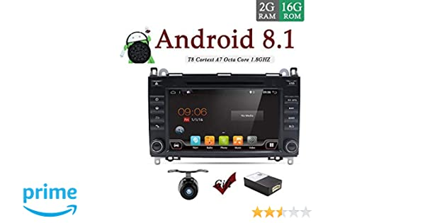Double Din Car Stereo for Benz Viano//Sprinter//Freightliner Sprinter//W906// Android 8.1 Head units 9 inch Car GPS Navigation Support Android auto Bluetooth Steering Wheel Google Backup Camera /& Canbus