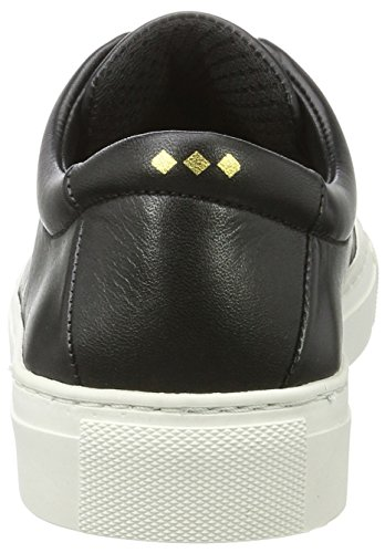 Derby Black Femme Elastic Elpique Baskets Royal Republiq Schwarz qUAwS