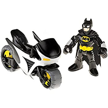 Fisher-Price Imaginext DC Super Friends Batman and Batcycle