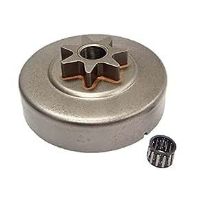 "monkeyjack piñón para cadena 3/8""-7t tambor de embrague para rodamientos para STIHL sustituir OEM 11256402004"