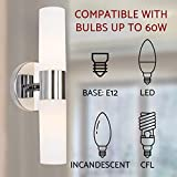 """Kira Home Duo 14"""" Modern 2-Light Wall Sconce with"""