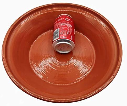 Tajine 2910201104 Marocain Casserole en terre cuite Taille XL 32 cm