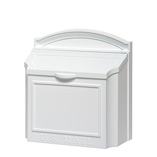 Whitehall Products 16139 Wall Mailbox, White by Whitehall