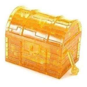 Amazon.com: Treasure Box Gold 3D Crystal Jigsaw Puzzle