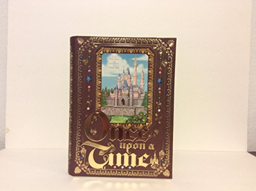 Disney Parks Cinderella Castle Once Upon a Time Keepsake Picture Photo Frame