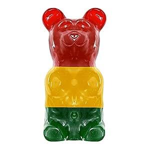 Giant 5LB Gummy Bear - Classic Stripe (Cherry, Lemon, Apple Stripe)