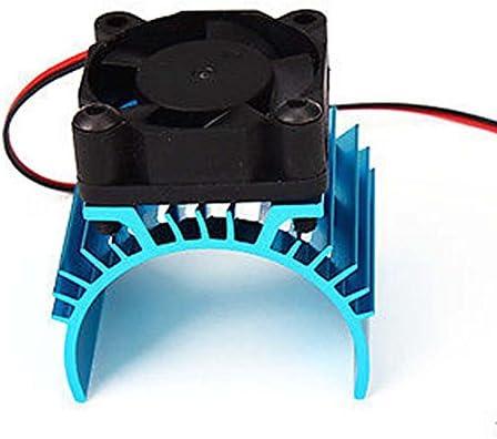 SODIAL Disipador de calor metalico con ventilador de enfriamiento ...