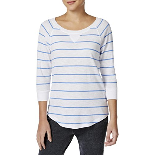 Discount Calvin Klein Performance Womens Knit Striped Pullover Sweater free shipping