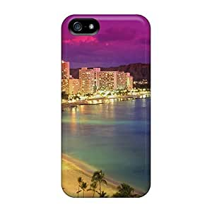 linJUN FENGNew CQoVfnc628OcpWO Waikiki At Dusk Tpu Cover Case For Iphone 5/5s