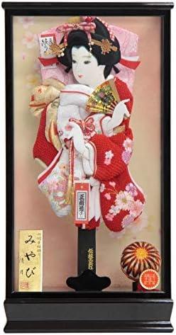 羽子板 ケース入り 極上桜の舞 TO2014 15号 高さ58cm hg15-11 みやびケース hk15-11 [201ha1504] 正月飾り