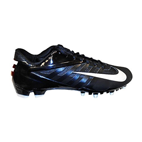 Nike Vapor Pro Low TD Men's Molded Football Cleats (11.5, Black/Metallic Silver)