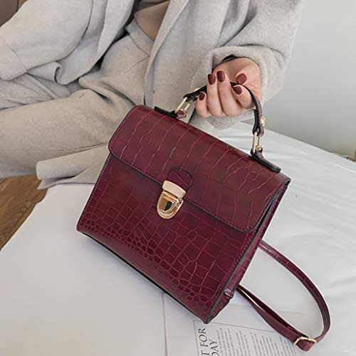 vino Totes Girls Donna Borse Coccodrillo Fortan Cube Retro per Miss Travel ragazza Modello Mano e spalla Borsa Work New Crossbody Lady Casual 0mN8nyvwO