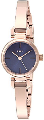 (DKNY Women's 'Ellington' Quartz Stainless Steel Casual Watch, Color:Rose Gold-Toned (Model: NY2666))