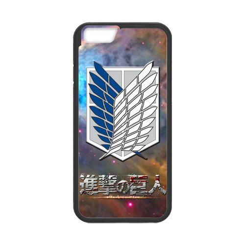 """Fayruz - iPhone 6 Rubber Cases, Attack on Titan Hard Phone Cover for iPhone 6 4.7"""" F-i5G249"""