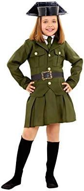 Disfraz de Guardia Civil para niñas en varias tallas: Amazon.es ...