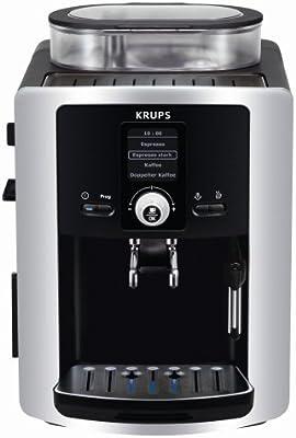 Krups EA 8025 Espresseria - Cafetera automática, color negro y ...