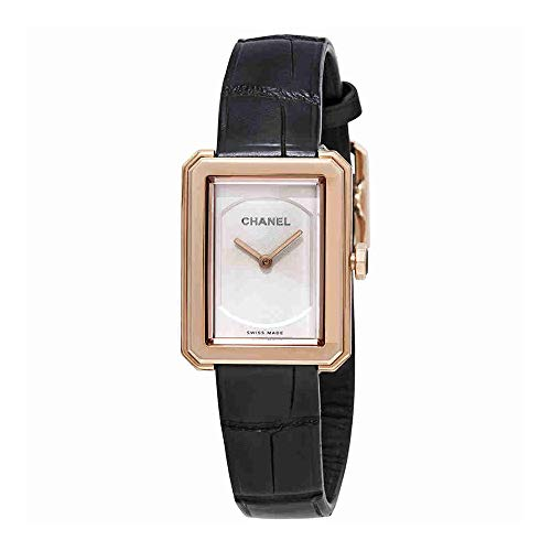 Chanel Boy-Friend Ladies 18K Beige Gold Watch H4886