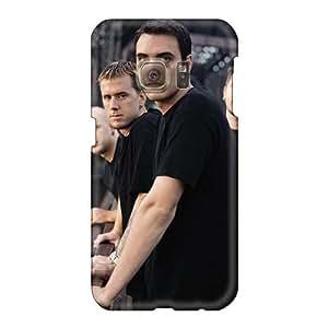 SherriFakhry Samsung Galaxy S6 Shock Absorption Hard Cell-phone Case Provide Private Custom Fashion Breaking Benjamin Band Image [yKP14178fjUq]