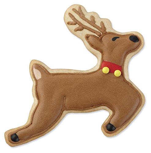 Buy Wilton 2308 5075 4 Piece Christmas Reindeer Metal Cookie Cutter