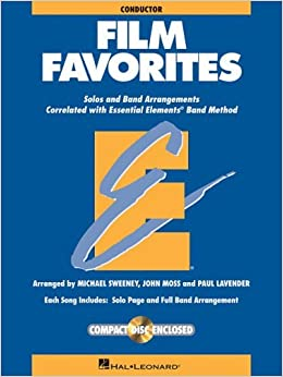 Book Film Favorites: Conductor (includes Accompaniment CD) by Michael Sweeney (2004-12-01)