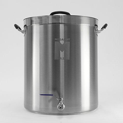 10 gallon stock pot with spigot - 3