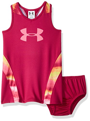 Under Armour Baby Girls Pivot Dress, Tropic Pink, 18M